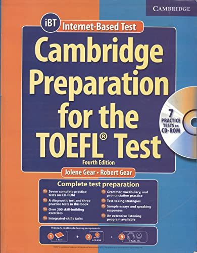 Cambridge Preparation for the Toefl Test Book with 1 CD-ROM and 8 Audio CD