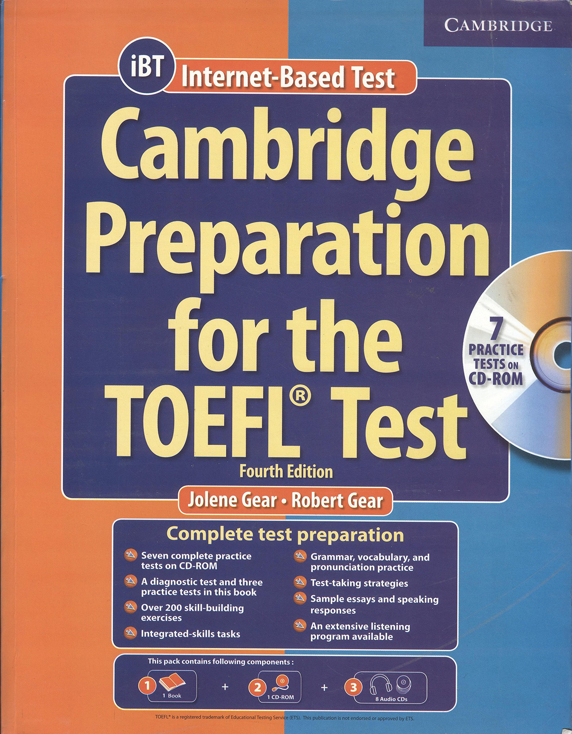 Buy Cambridge Preparation for the Toefl Test Book with 1 CD-ROM and