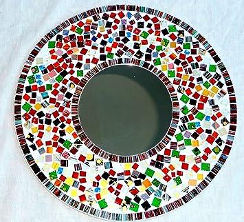 Amazon espejos de pared gallery of espejos de pared redondos y adhesivo diseo moderno tres - Espejos decorativos amazon ...