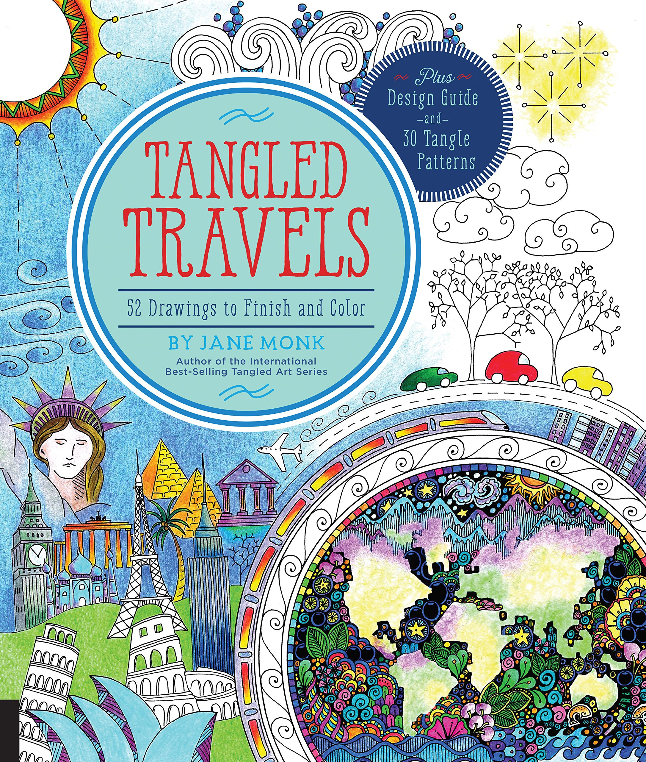 Tangled Travels Drawings Finish Color product image