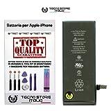 TSI® Batteria di Ricambio per iPhone 6, Capacità 1810 mAh apn 616-0805, + Tool Kit Smontaggio, Biadesivo e Istruzioni