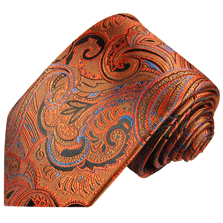Paul Malone corbata de seda (longitud normal, extra larga o ...