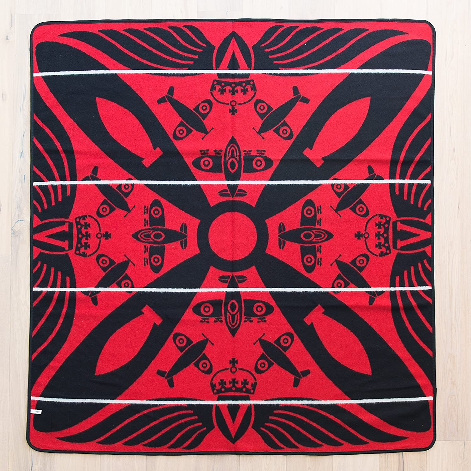 BASOTHO HERITAGE BLANKET - (As seen in Black Panther) Victoria England - Spitfire. (61x 65) Original Quality, Woolen wearing blankets from Lesotho, Southern Africa