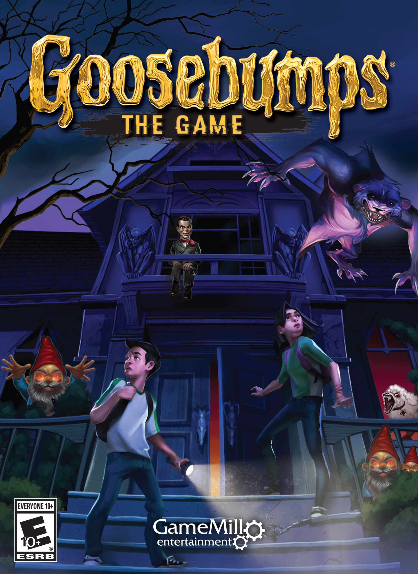 Goosebumps  The Game  Steam Key   Online Game Code