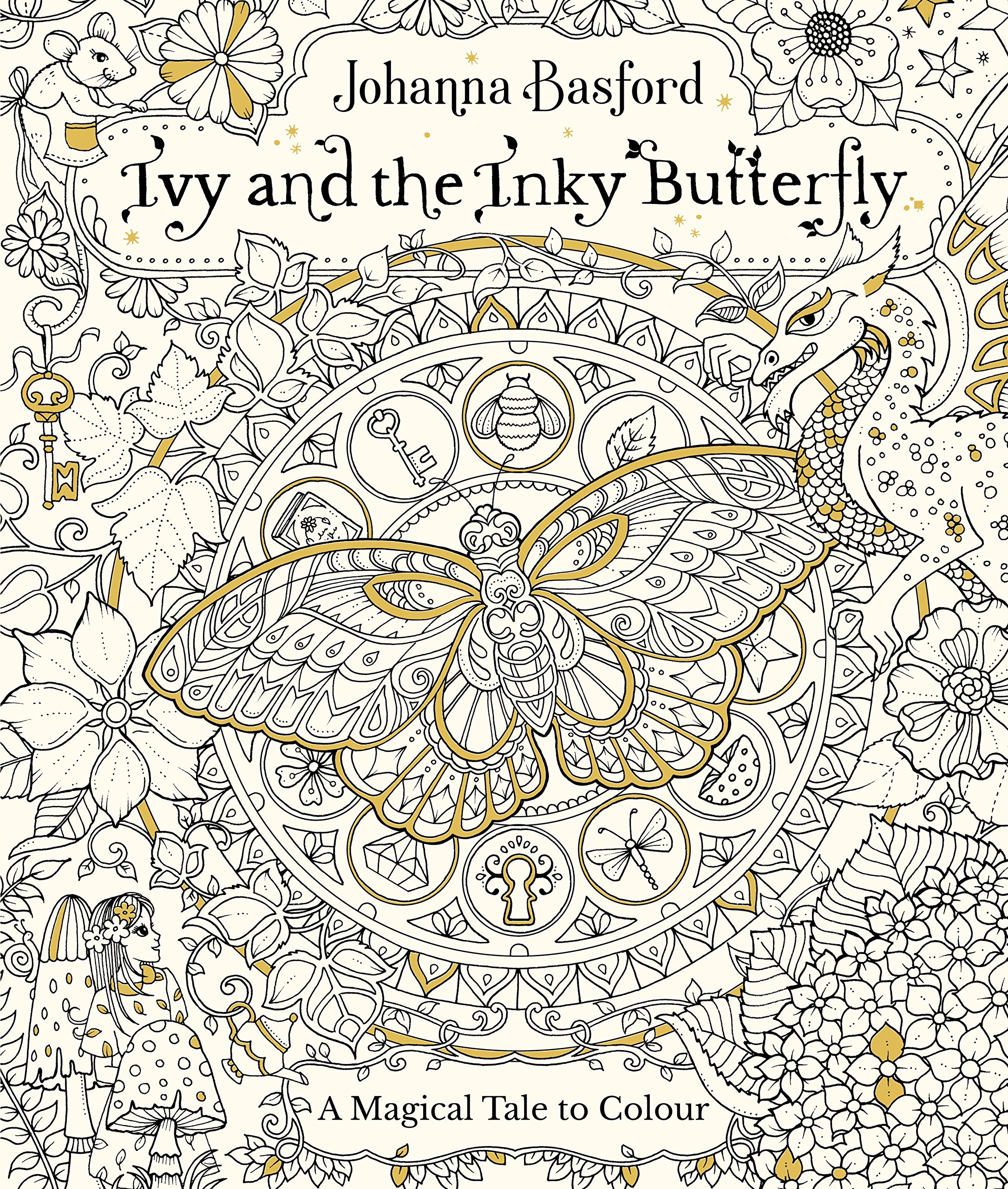 Buy Ivy And The Inky Butterfly Colouring Books Book Online At Low Prices In India