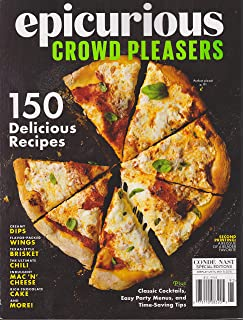 The epicurious cookbook more than 250 of our best loved four fork epicurious crowd pleasers magazine spring 2016 forumfinder Gallery