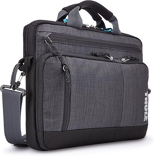 Thule Stravan Deluxe Attache Bag for 15 Inch MacBook Dark Shadow