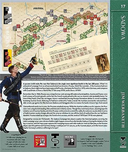 Amazon com: TPS: the Sadowa Campaign, 1866, Boardgame: Toys