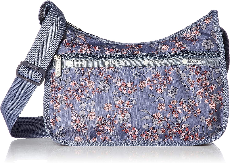 LeSportsac Classic Hobo Crossbody Handbag in Laelia Dusk, Medium