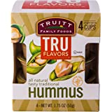 Truitt Family Foods Tru Flavors Hummus, 1.75 Ounce, 4 Count (Pack of 6)