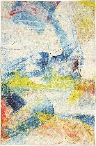 Mohawk Canvas Art Area Rug, 8 x10 , Multicolored