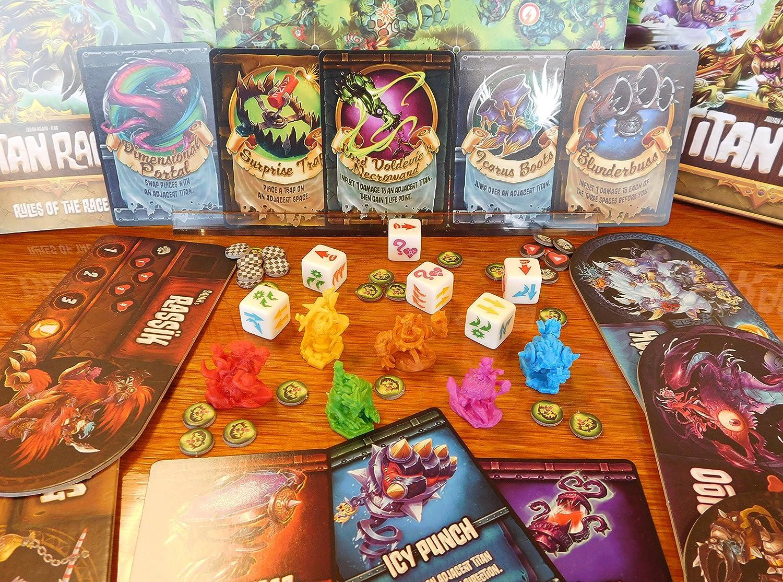 Passport Game Studios Titan Race: Amazon.es: Juguetes y juegos