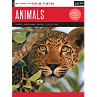 Acrylic: Animals: Learn to paint animals in acrylic step by step - 40 page step-by-step painting book