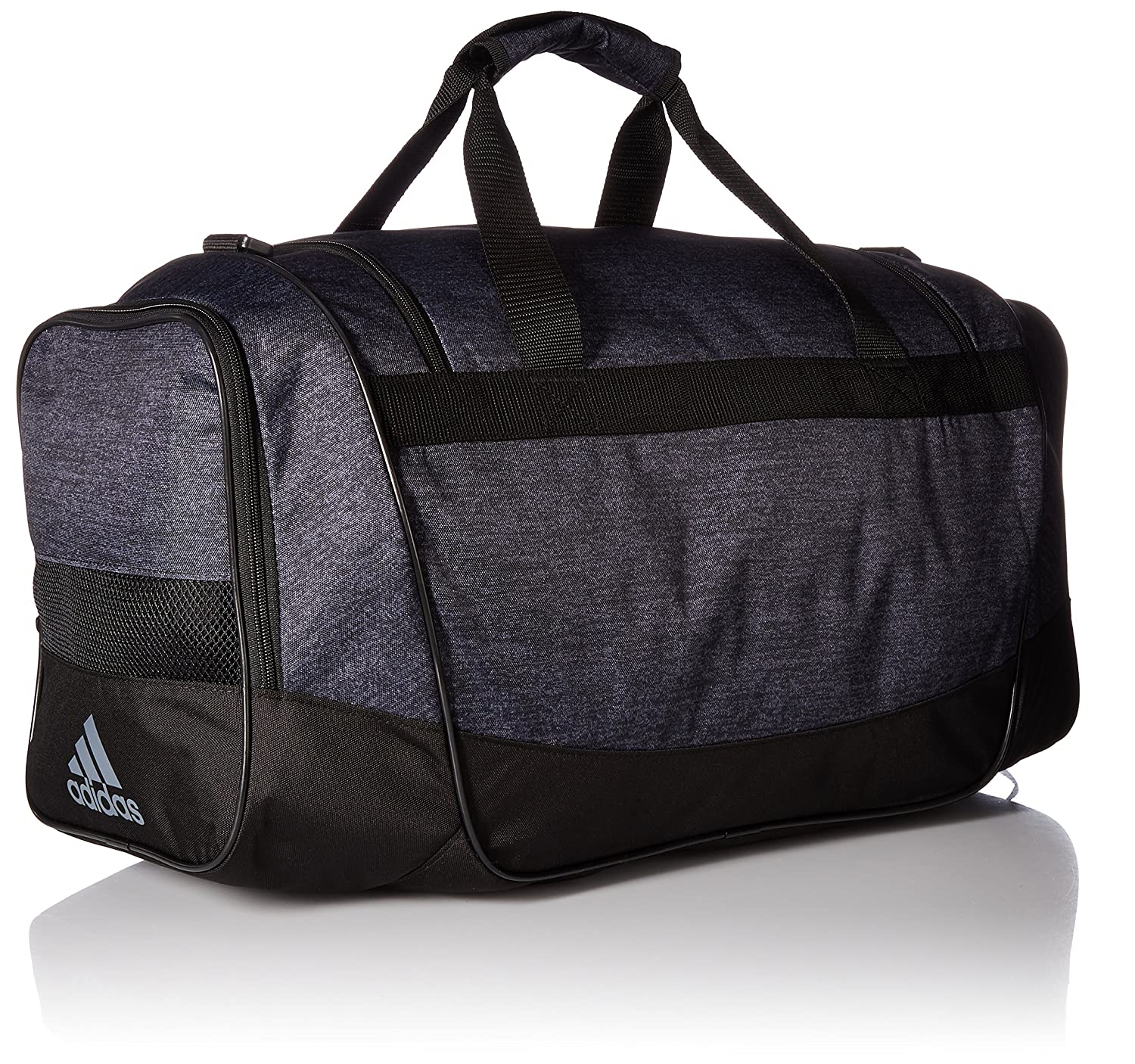edc233c861d Amazon.com: adidas Unisex Defender III Medium Duffel Black Jersey/Black One  Size: Clothing