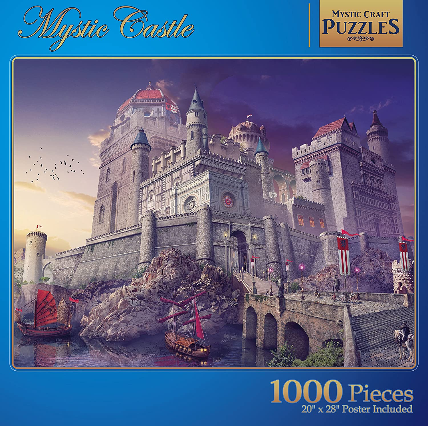 Mystic Castle Jigsaw Puzzle 1000 Piece Jigsaw Puzzle by Mystic Craft Puzzles