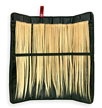 Amazon hair extension storage organizer spacious satin hair extension storage organizer spacious satin lined case holds multiple sets of human pmusecretfo Image collections