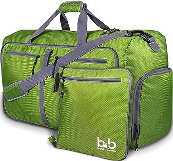 d094477413e Amazon.com   Extra Large Duffle Bag with Pockets - Travel Duffel Bag for  Women and Men (Dark Green)   Travel Duffels