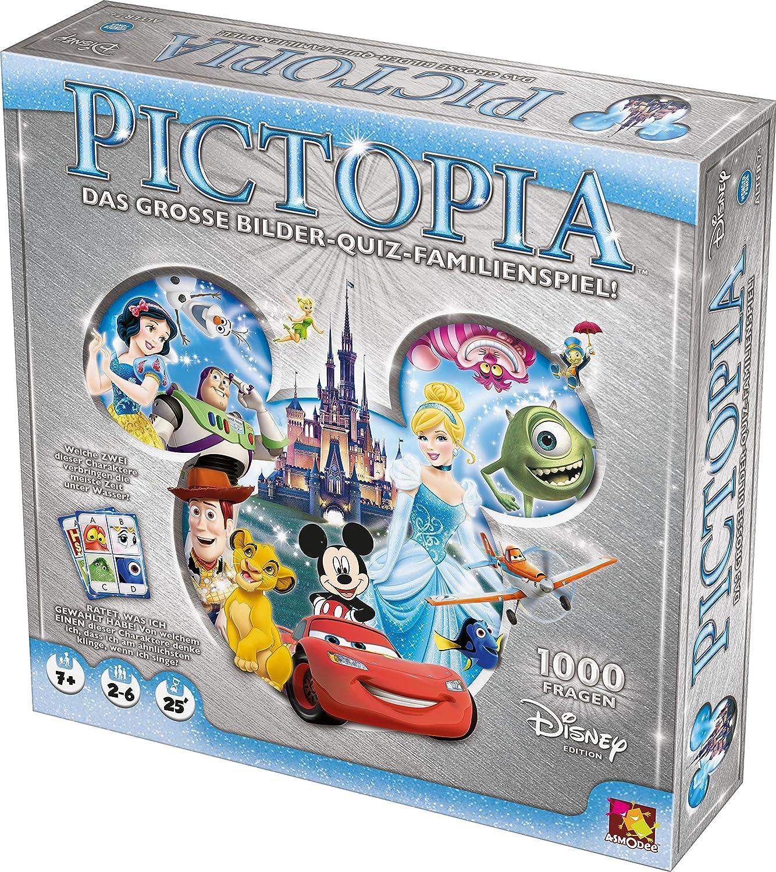 Asmodee 002793 - Juego de Mesa - Disney Pictopia: Amazon.es: Juguetes y juegos