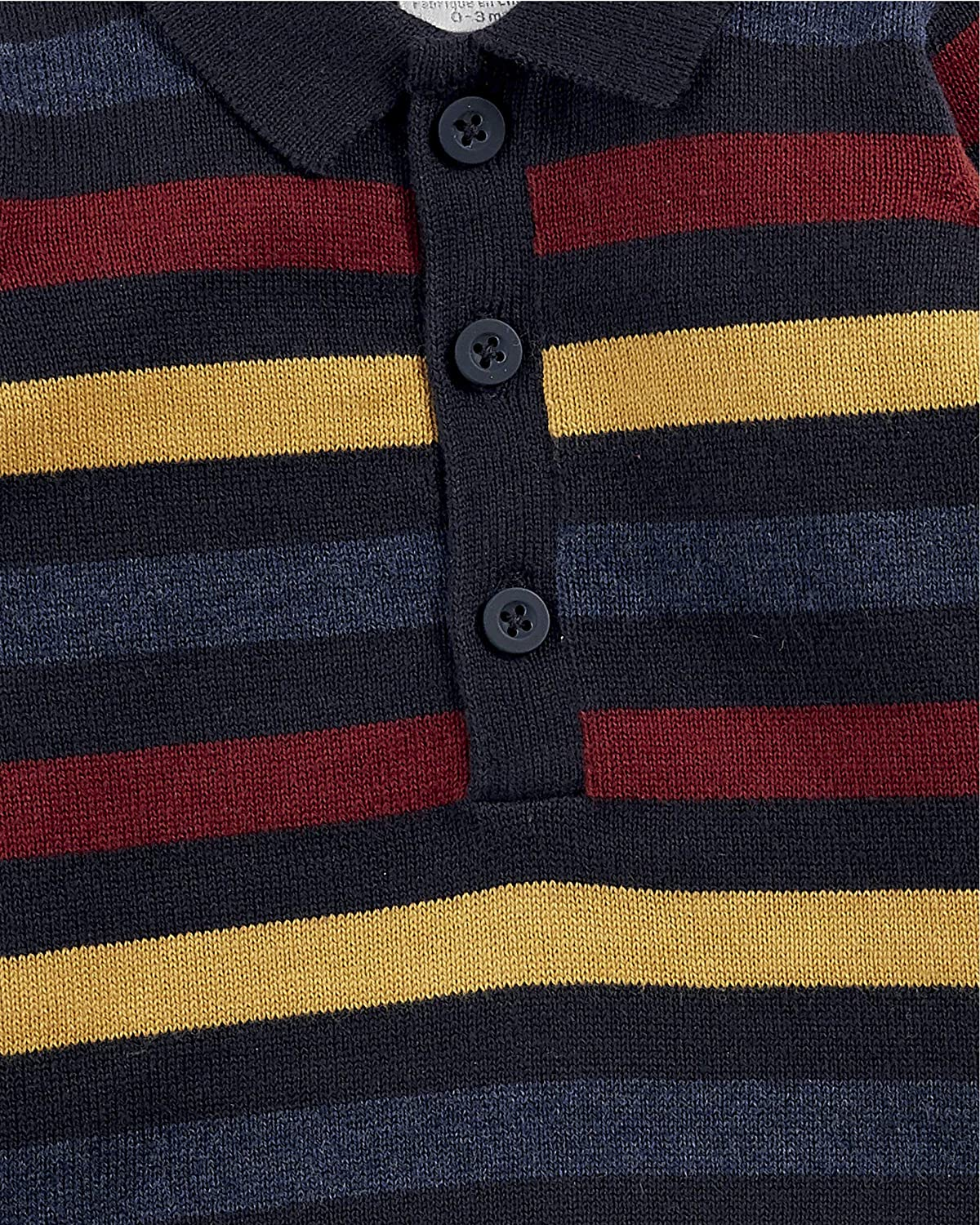 Mamas & Papas Striped Knit Polo Bebés: Amazon.es: Ropa y accesorios