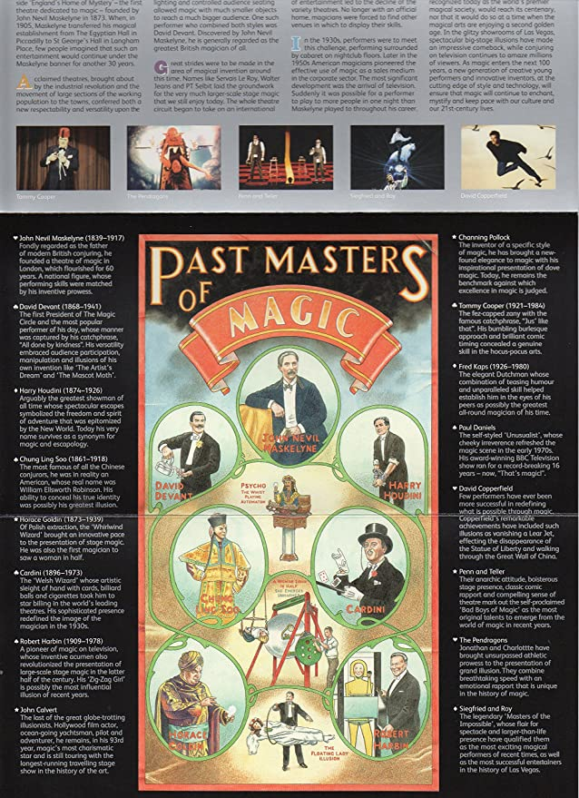2005 Centenary of the Magic Circle Presentation Pack No  370 - Royal