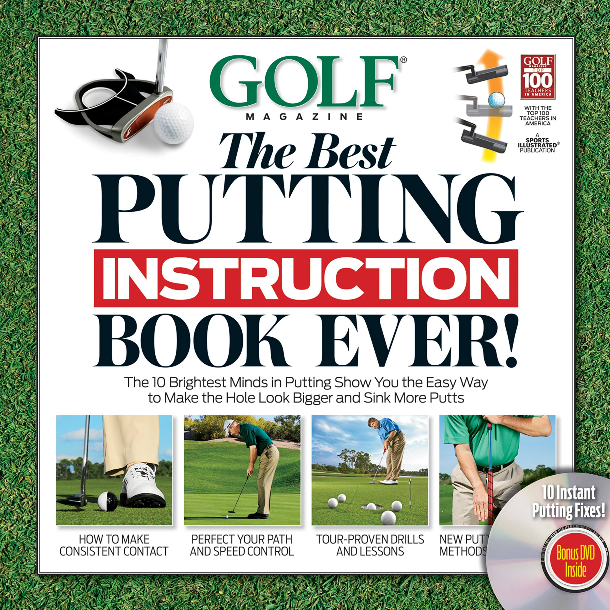GOLF The Best Putting Instruction Book Ever!: Editors of Golf Magazine:  9781603201483: Amazon.com: Books