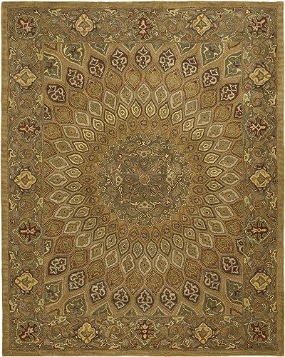 Safavieh Heritage Collection HG914A Handmade Traditional Oriental Premium Wool Area Rug