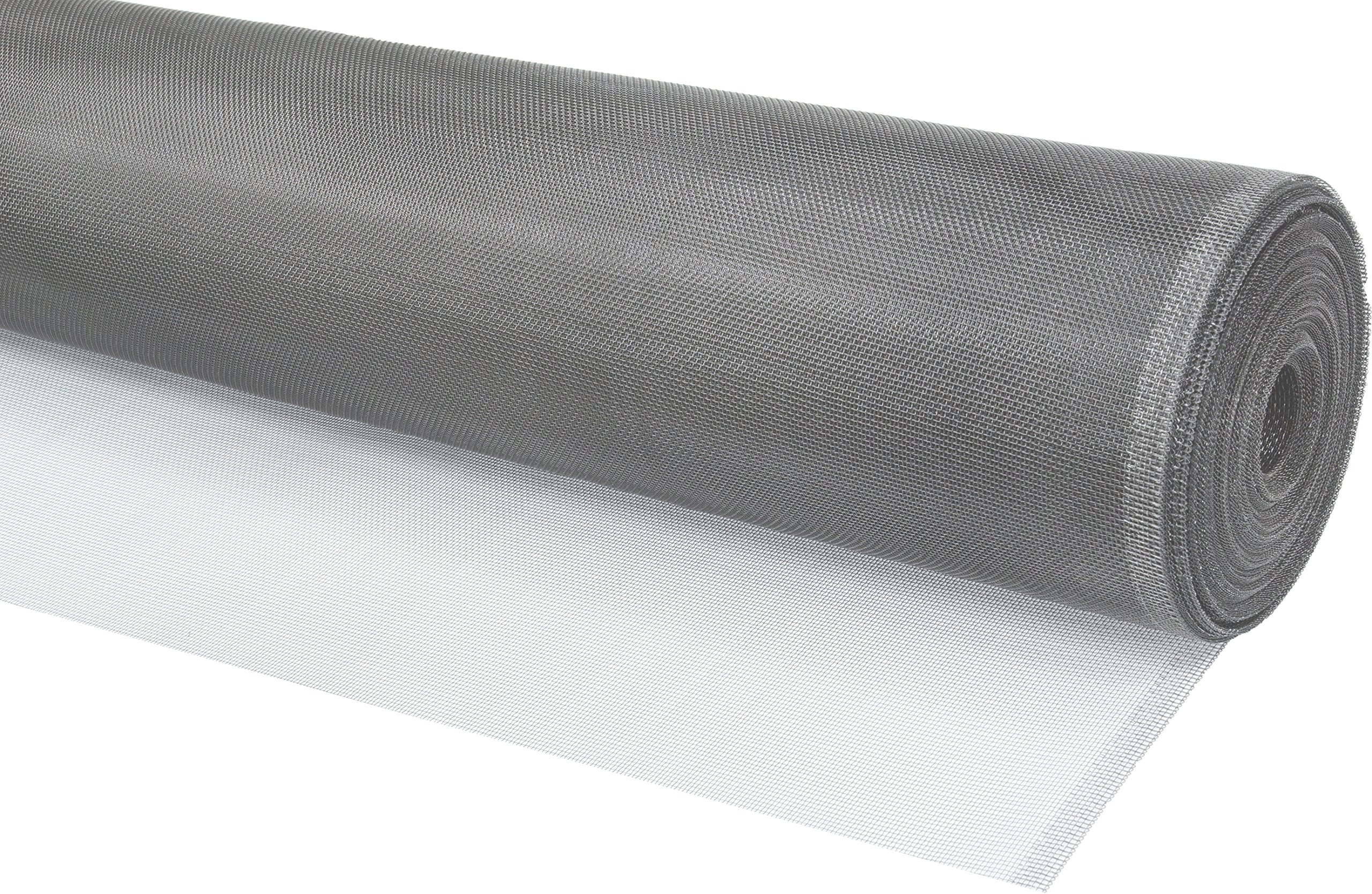 WJ Dennis & Company Climaloc SACL36100S Bulk Roll of Strong Durable Aluminum Replacement Screen for Professionals, 36-Inch x 100-Feet, Silver