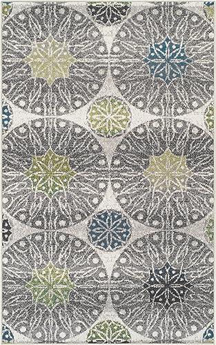 Superior Designer 5' x 8' Rosette Collection Area Rug