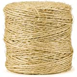 Sisal Packing Twine - 420 Feet, Heavy Duty, Premium Quality, Natural and Biodegradeable by eco-Rope