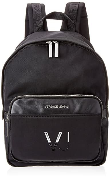 Versace Jeans Logo Vj, Sac à dos homme Noir Nero (Nero)  Amazon.fr ... b613f4c7bf1