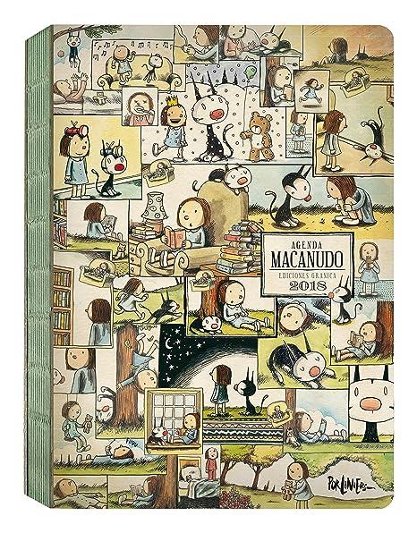 Amazon.com : Macanudo 2018 Agenda encuadernada - Enriqueta ...