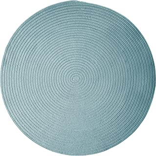 product image for Colonial Mills Boca Raton Area Rug 5x5 Federal Blue