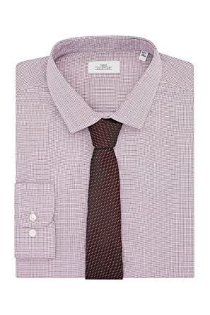 next Hombre Conjunto De Camisa Corte Estándar Y Corbata ...