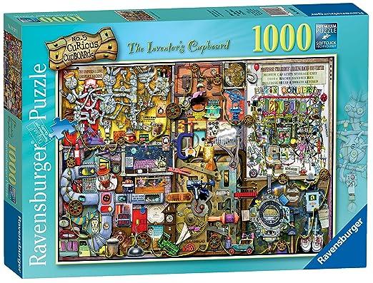7 opinioni per Ravensburger 19597 Colin Thompson Puzzle The Inventor's Cupboard, 1000 Pezzi