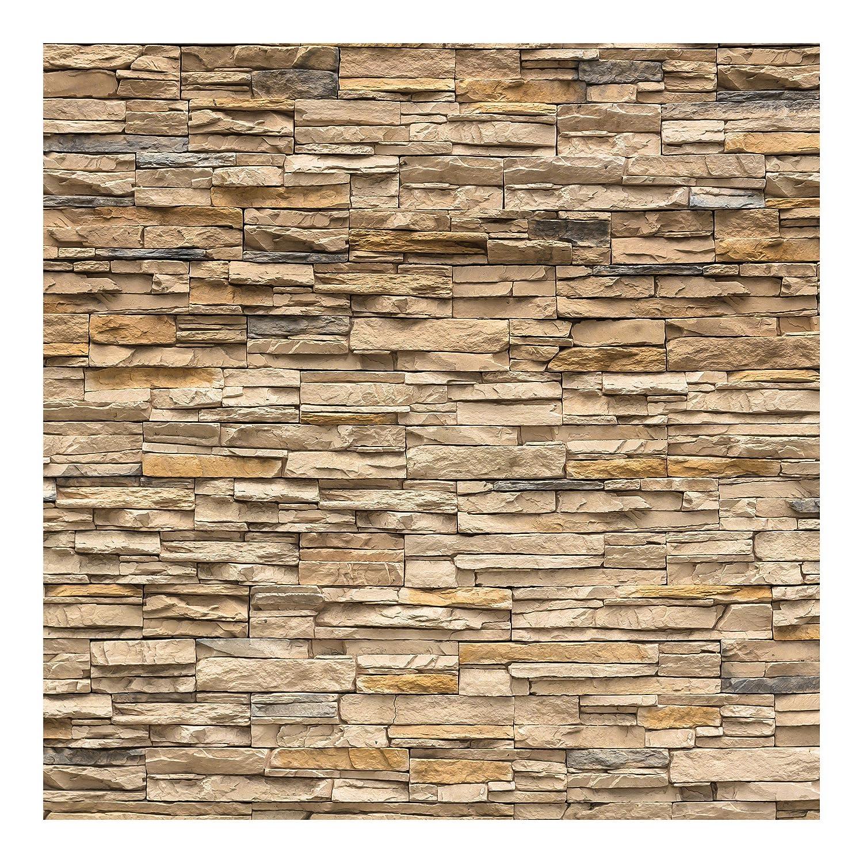 Best Fototapete Steintapete Andalusia Stonewall Vliestapete Quadrat Tapete  Steinoptik Beige Braun Vlies Wandbild Xxl Steinwand Stein Mauer Wand D With  ...
