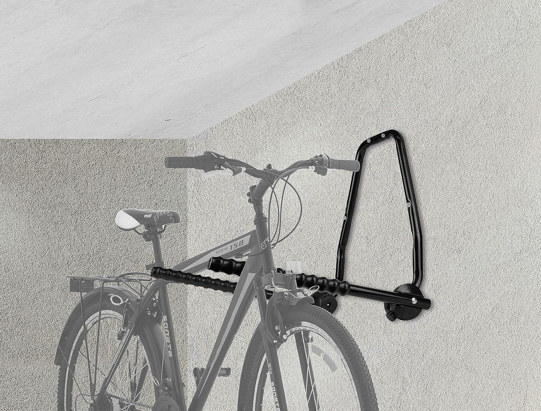 EUFAB 16404 - Soporte de Pared para 3 Bicicletas: Amazon.es: Coche y moto