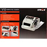 MONEY COUNTING MACHINE WITH FAKE NOTE DETECTOR STROB V 10 available at Amazon for Rs.3400