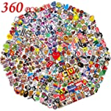 QWDDECO Sticker Pack (360-pcs) Vinyl Kawaii Decal Stickers for Laptop,Water Bottles,Luggage,Skateboard,PS4,Xbox one…