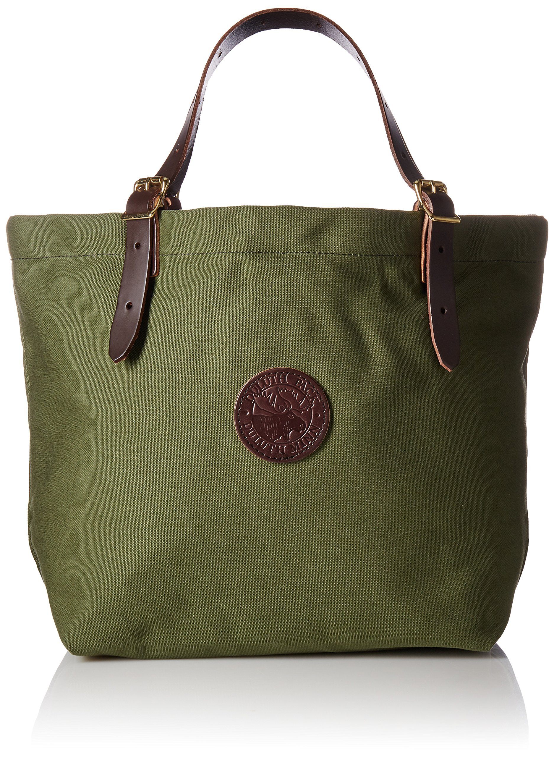Duluth Pack Market Tote, Olive Drab, 14 x 18 x 9-Inch