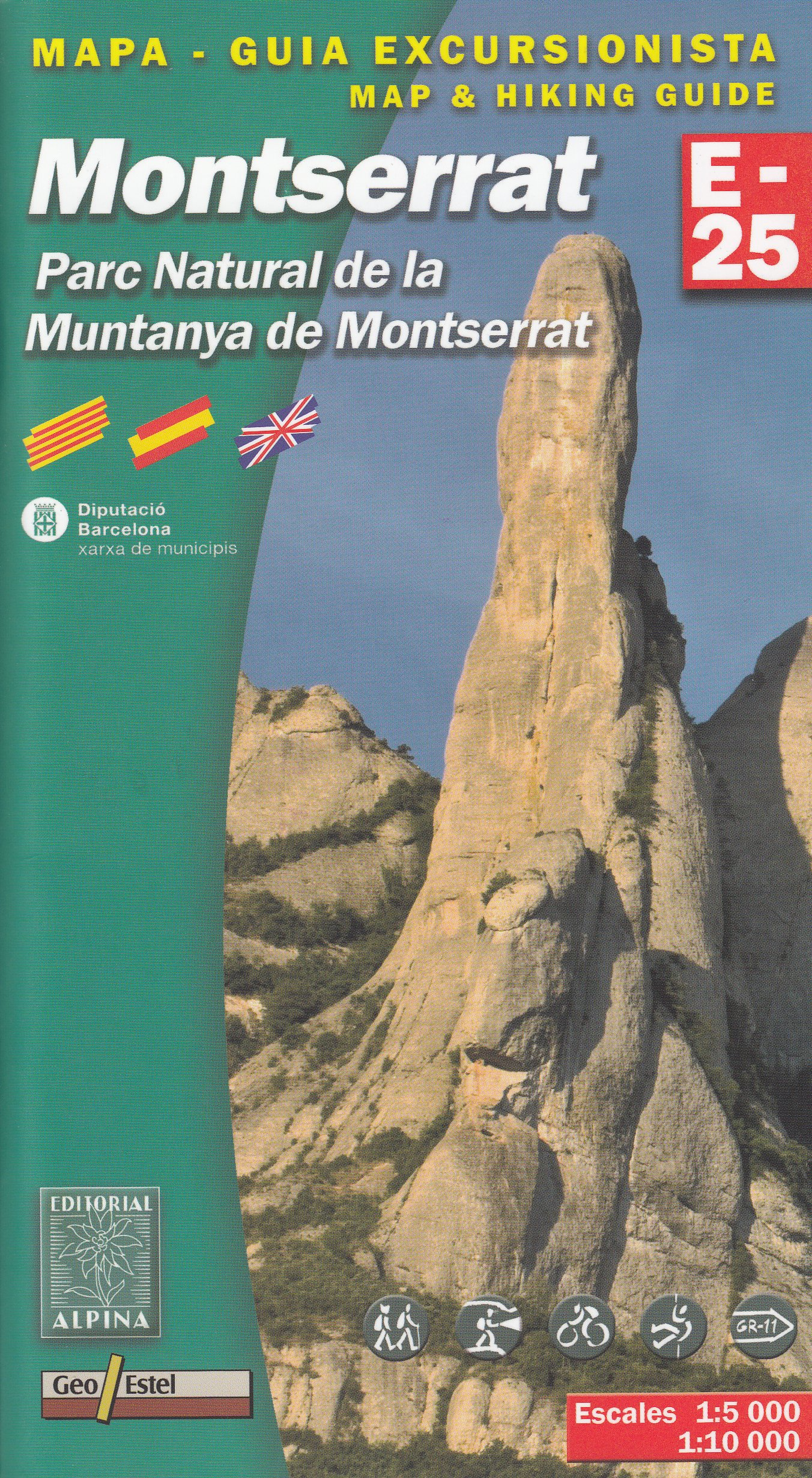 Parc Natural de la Muntanya de Montserrat España, Pirineos 1 ...