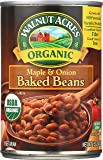 Walnut Acres Organic Maple Onion Baked Beans, 15 Ounce Cans (Pack of 12)
