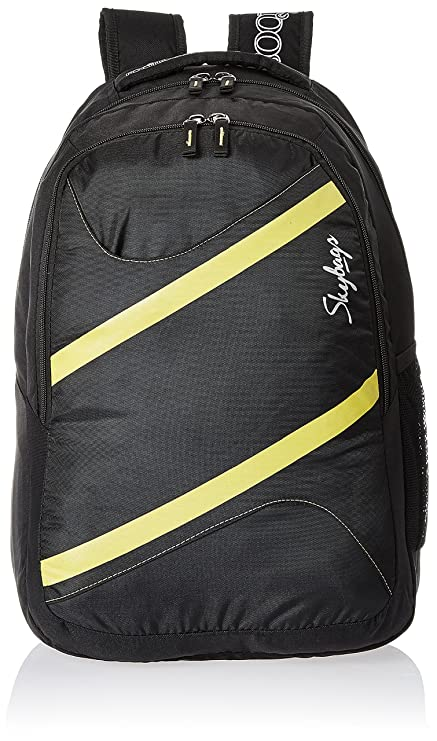 Skybags Router 26 Ltrs Black Casual Backpack (LPBPROU2BLK)  Amazon ... 9290fe87bb