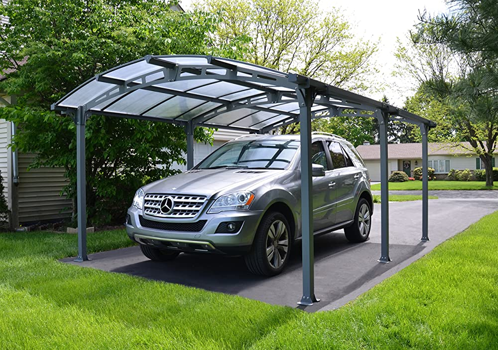 Palram Arcadia 5000 Carport & Patio Cover 16 x 12 x 8