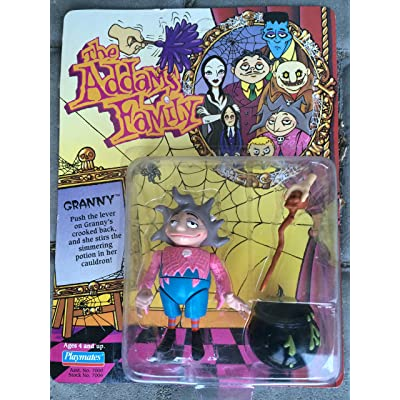The Addams Family Granny Action Figure: Toys & Games