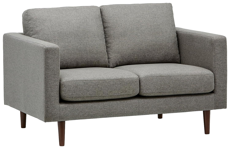 Rivet Revolve Mid-Century Modern Loveseat Sofa Couch, 56.3