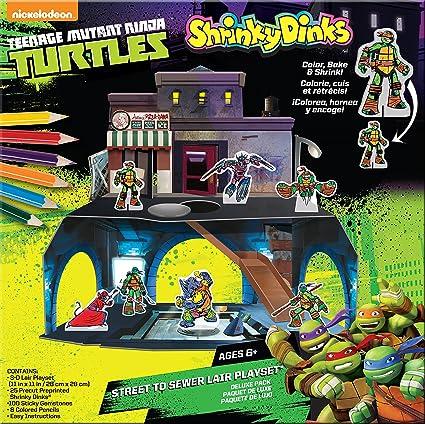 Teenage Mutant Ninja Turtles Shrinky Dinks Playset