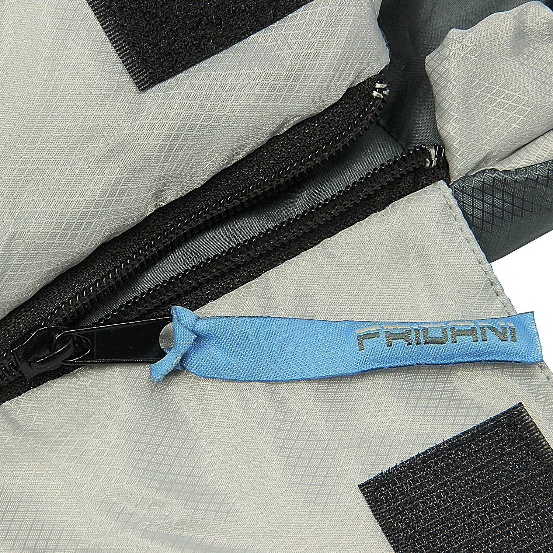 19/°C Blau warm wasserabweisend waschbar Fridani XL Kinderschlafsack MB 175x70 cm Mumienschlafsack