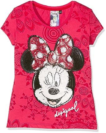 a419e540a2920 Desigual Burgui - T-shirt - Imprimé - Fille  Amazon.fr  Vêtements et ...