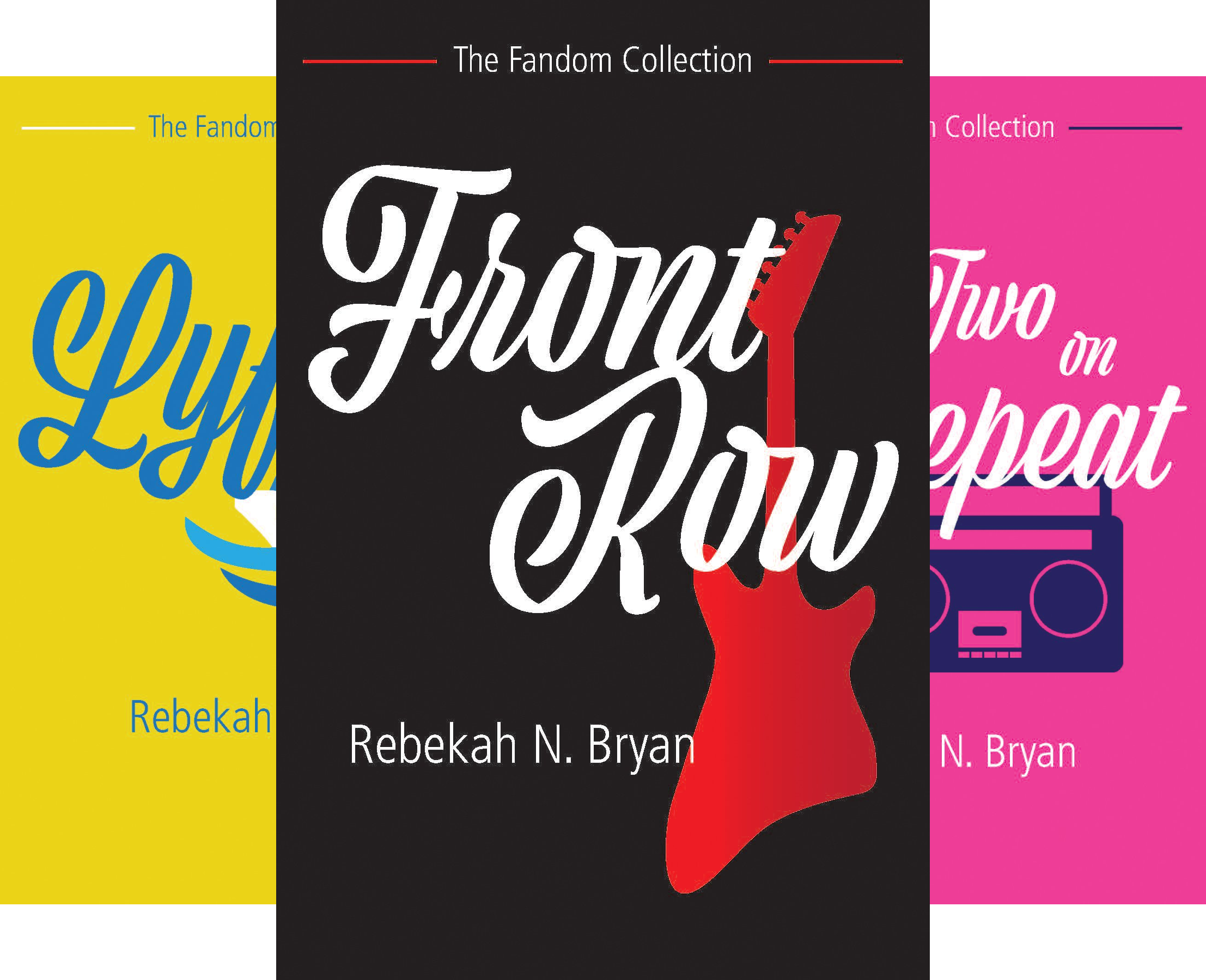 The Fandom Collection (4 Book Series)