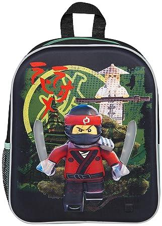 8773546152c2 Lego Ninjago Movie LED Backpack Kai Ninjago School Bag Back Pack with  glowing swords